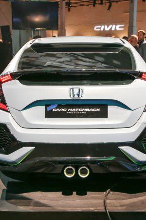 2017 Honda Civic HatchBack Automatic