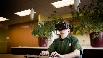 Virtual Reality Typing Lights up Ideas and Keyboards