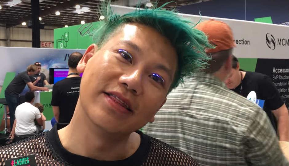Arduino Controlling The Glowing Led Eyelashes