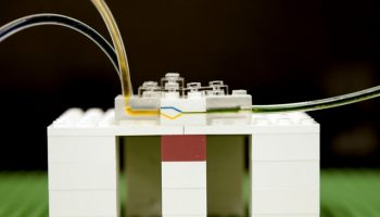 Microfluidics from LEGO Bricks