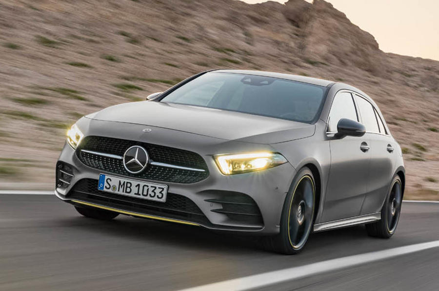 Daimler Takes On Silicon Valley with Hi-Tech Mercedes A-Class