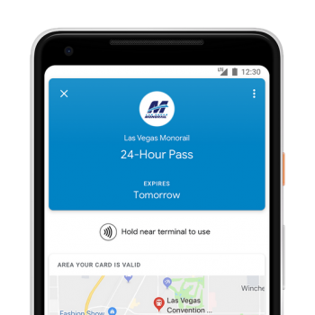 Google Pay Got Your Transit Ticket, Starting In Las Vegas