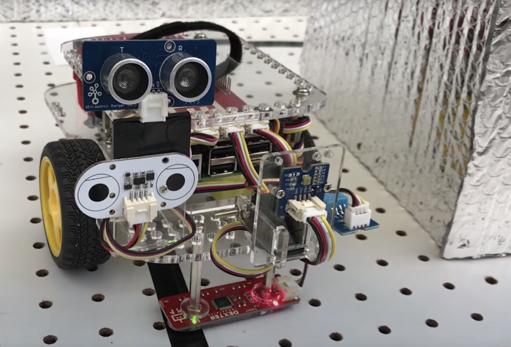 HoneyBot: Robot Designed to Defend Factories Against Cyberthreats