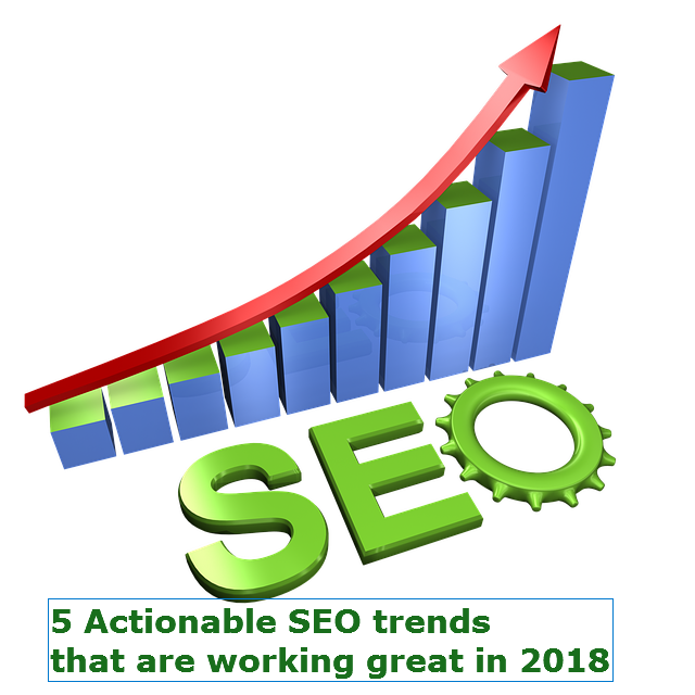 5 Actionable SEO trends that are working great in 2018