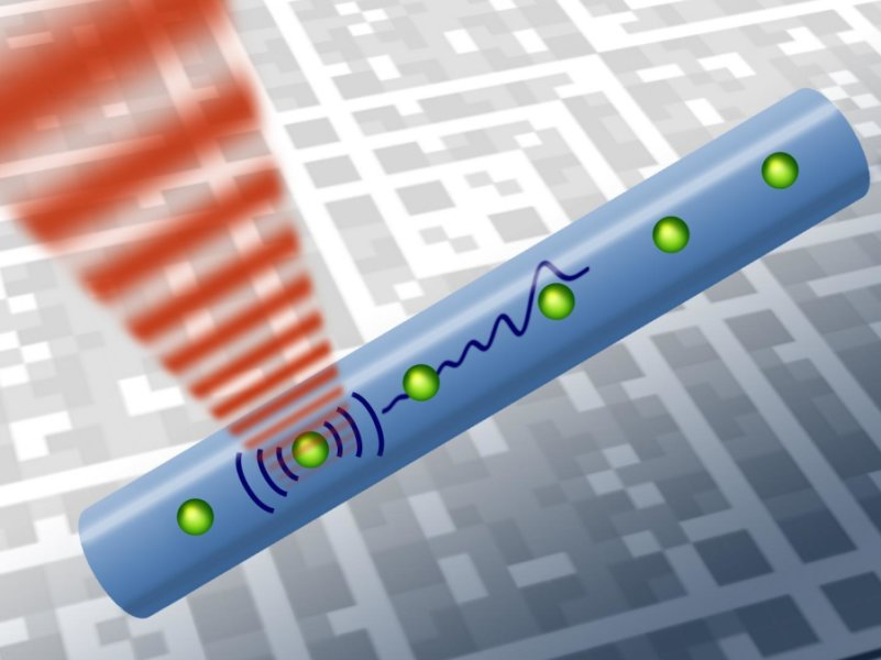 Transferring Quantum Information Using Sound