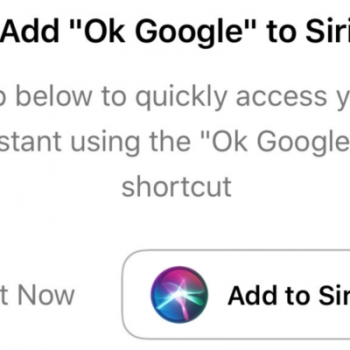 How to Make Siri Run Google Assistant Commands