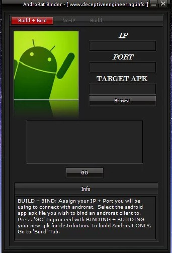 Ultimate Free Hacking Apps for Android AndroRAT