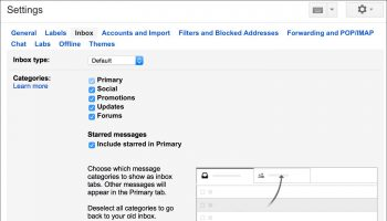 Sorting Messages on Gmail