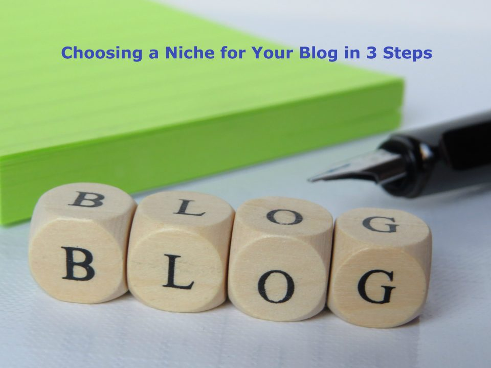 Choosing a Niche for Your Blog in 3 Steps