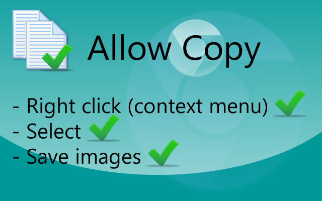 Allowcopy blogger tool