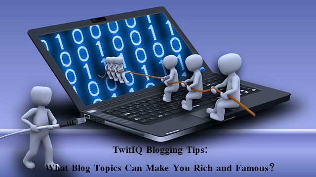 Blogging for Rich