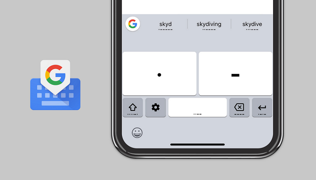Making Morse Code Available to More People on Gboard