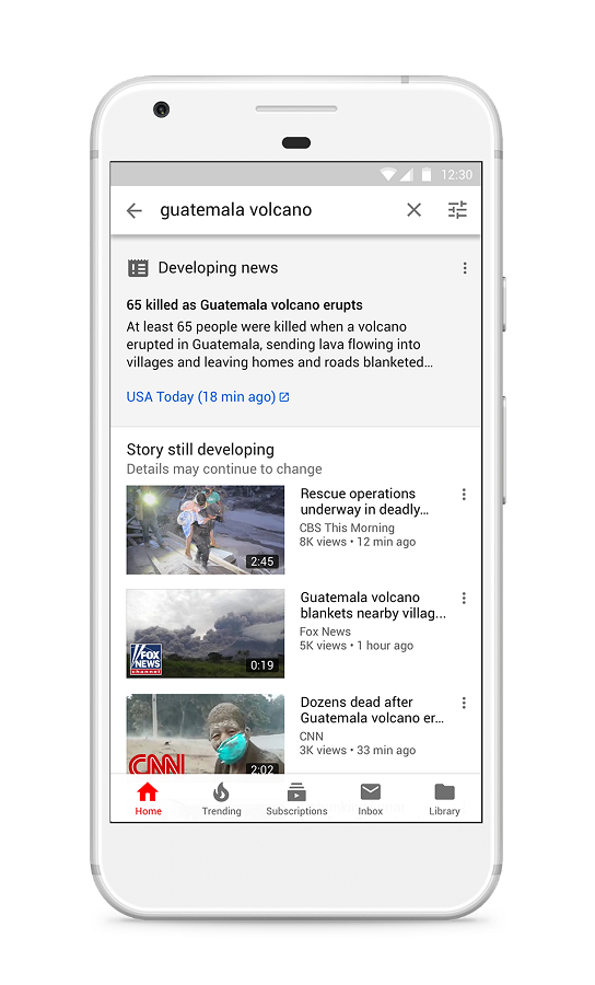 Building Better News Experience on YouTube