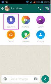 whatsapp tricks document sharing