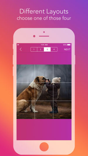 Split Photo for Instagram Grids