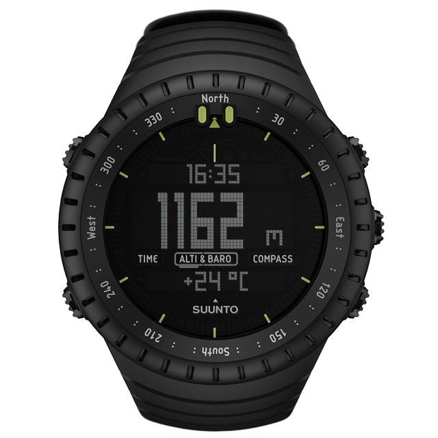 Best Compass Watch Suunto Core All Black