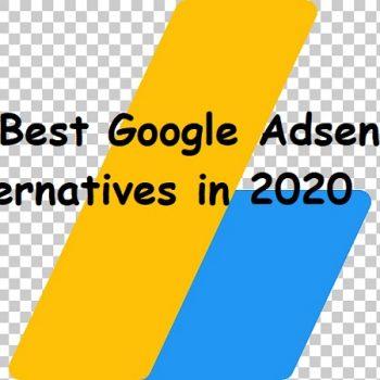 10 Best Google Adsense Alternatives in 2020