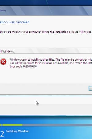 Error 0x80070570: Fixing Windows Error Tips and Tricks