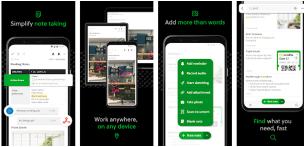 Must Have Apps for Android Evernote