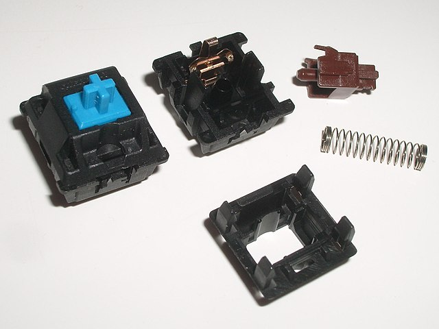 mechanical keyboard switches parts