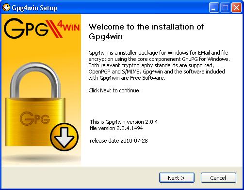 Pretty Good Privacy- Private & Public PGP Key