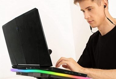 KLIM Ultimate RGB Best Laptop Cooling Pad